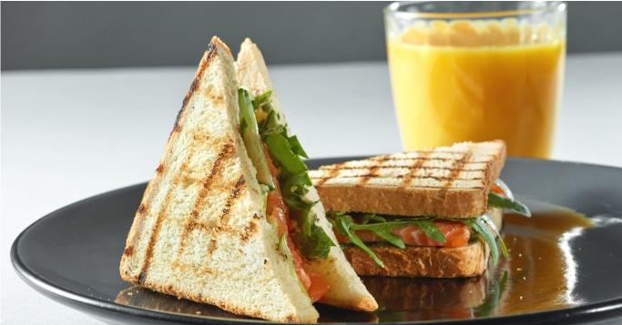Almuerzo Comida Sandwich Almentacion
