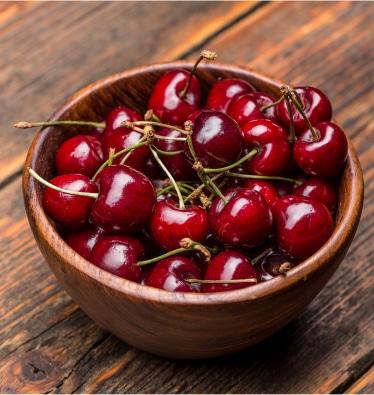 La cereza, fruta de temporada