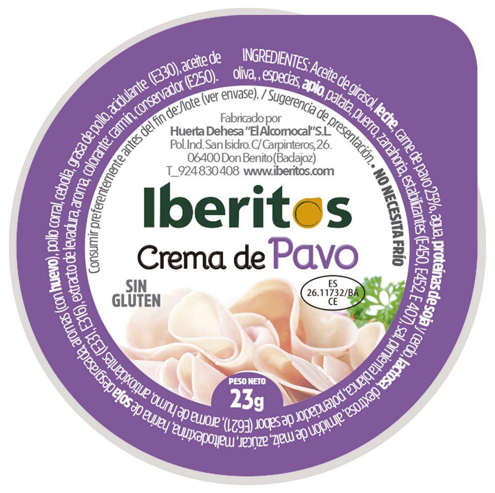 Iberitos Crema De Pavo