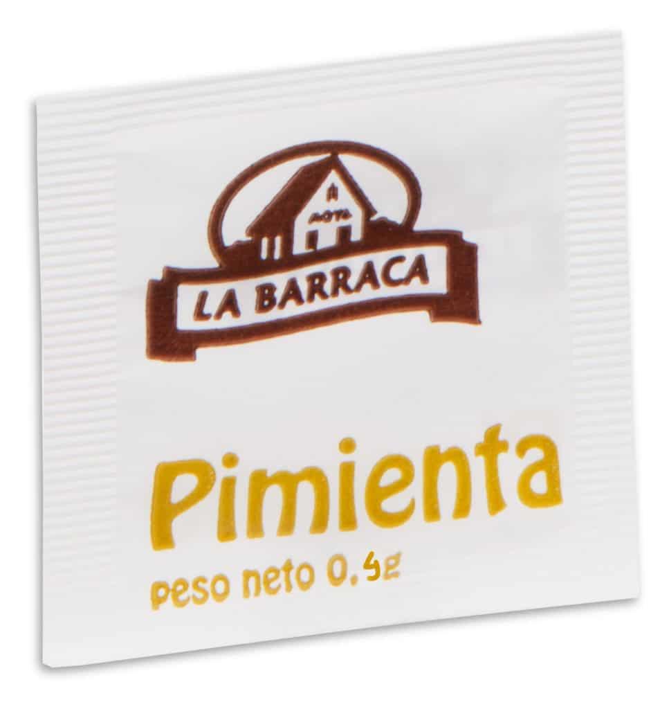 Monodosis Pimienta 04 G
